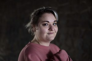 Portret van Merel, die Alles Goed vertelde over haar ervaring met depressieve periodes
