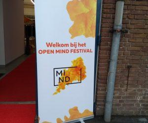 Banner van het Open MIND festival 2017